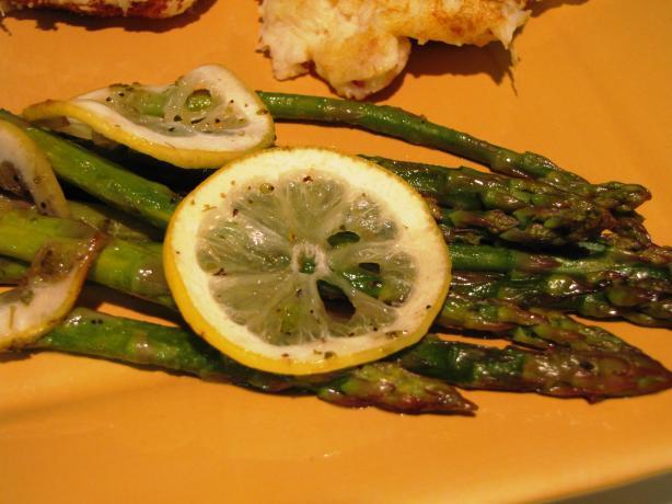 Lemon Lovin' Asparagus