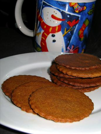 Crisp Spice Cookies (Diabetic)