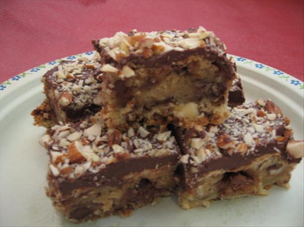 Almond Brittle Bar Cookies