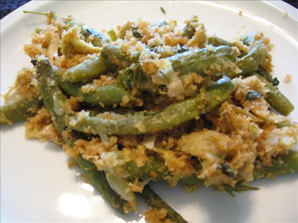 Italian Herb Green Beans & Artichoke Dressing