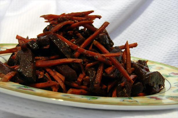 Easy Balsamic Italian Beets