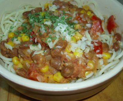 Spicy Southwestern Pasta