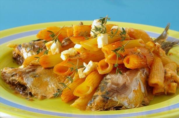 Penne Con La Sardine (Baked Pasta and Sardines)