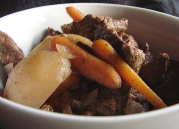 Crock Pot at the Cabin Beef Stew
