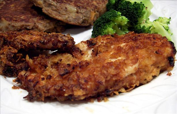 Oven-Fried Cornflake Chicken