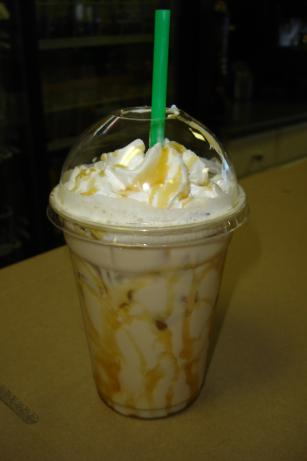 Starbucks Caramel Macchiato Blended - Tastes Great Cold or Hot