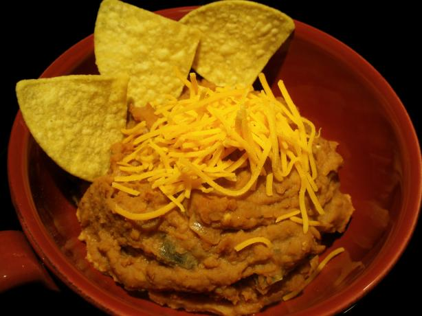 Quick Vegetarian Bean Dip