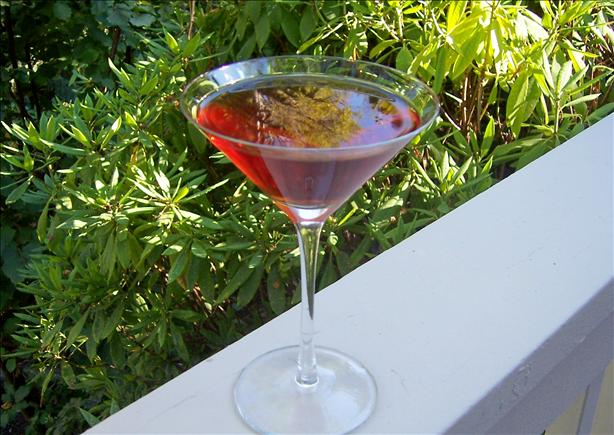 Linda's Blueberry-Pomegranate Martini