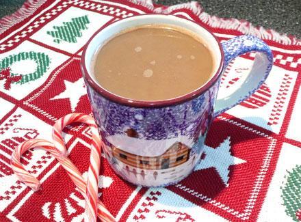 Snowflake Peppermint Latte