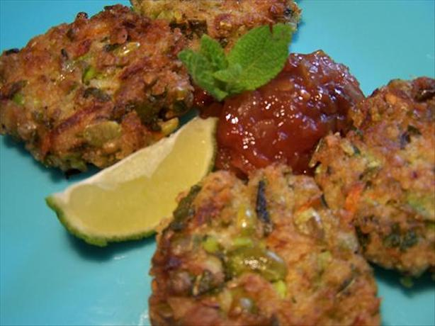 Spicy Soybean Patties With Mint