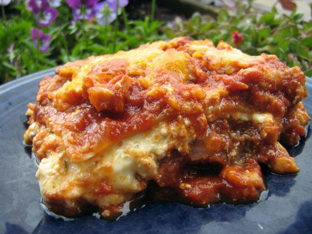 V's Mexican Lasagna