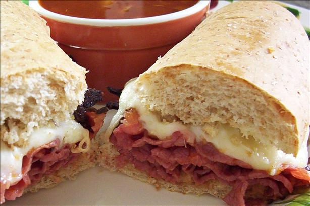 French Dip With Italian Attitude