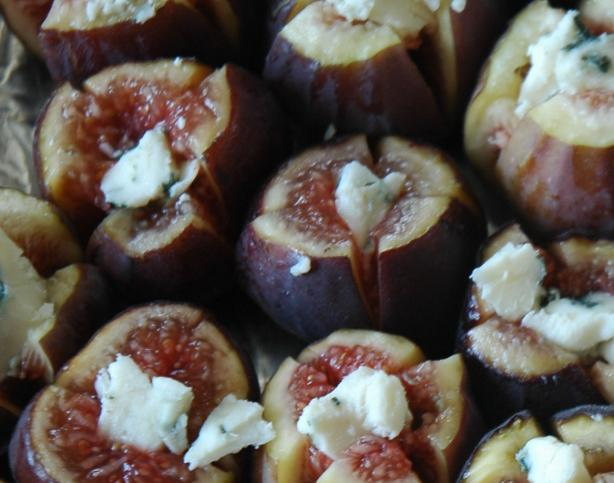 Fresh Figs Baked