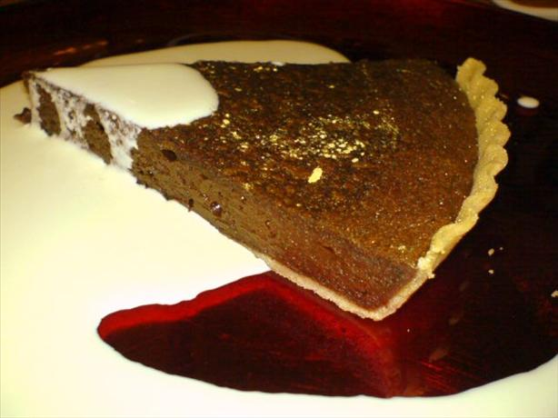 Posh Chocolate Tart