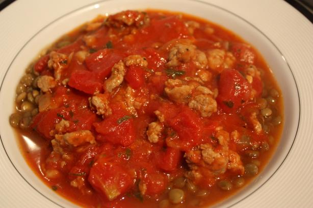 Hearty Tomato and Sausage Stew