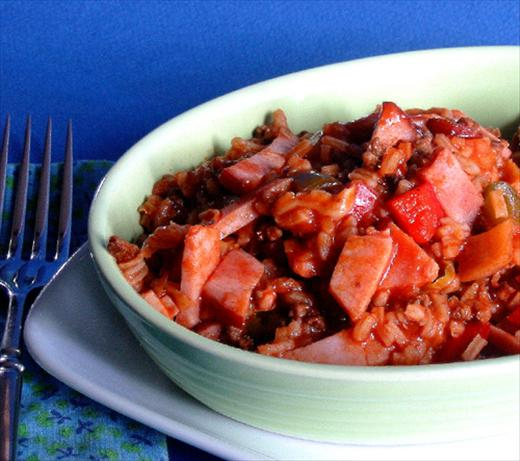 Spanish Rice With Ham