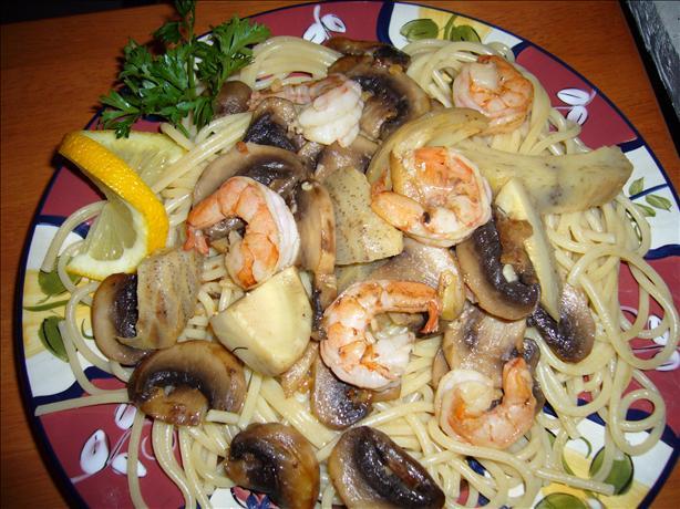 Romano's Macaroni Grill Shrimp Portofino