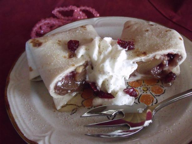 Cranberry Burritos