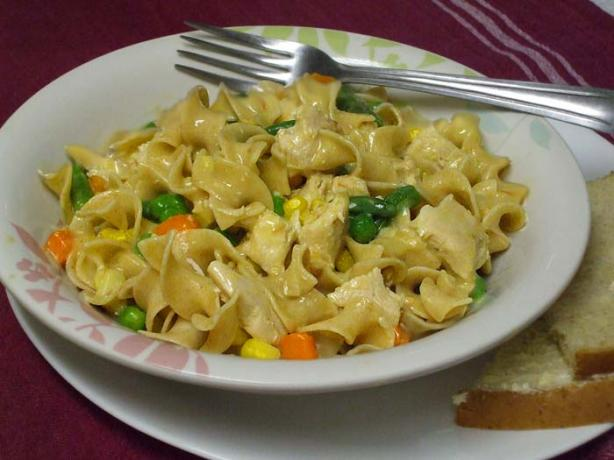 The Easiest Chicken and Noodles Recipe Ever