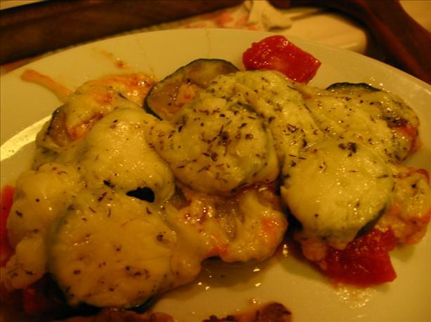 Grilled Zucchini Casserole