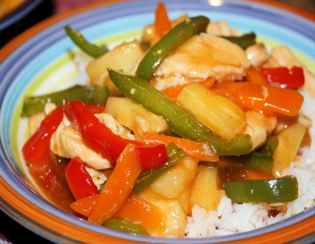 Sweet - and - Sour Chicken