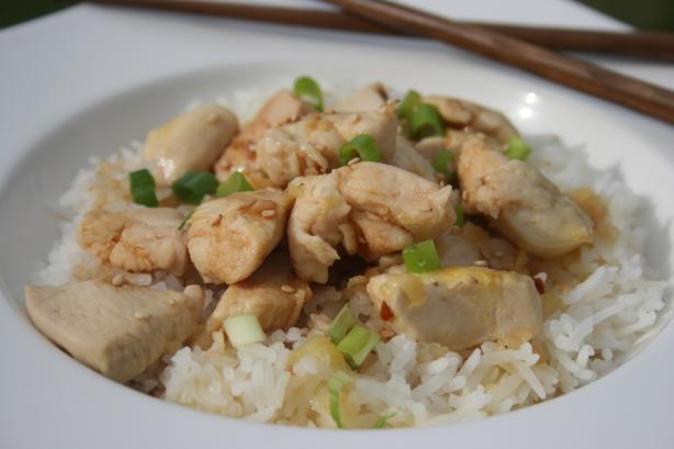 Szechuan Orange Chicken