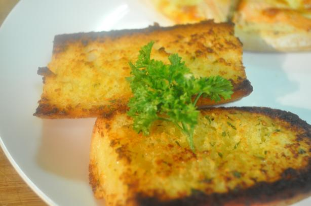 Grilled Herb Garlic Bread