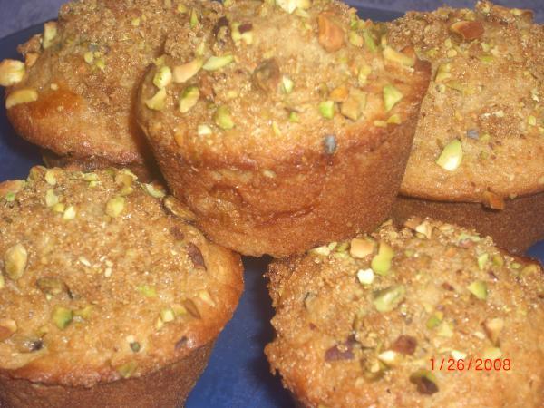 Pistachio Crunch Muffins