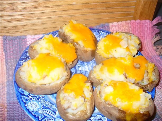 Mushroom Stuffed Potato