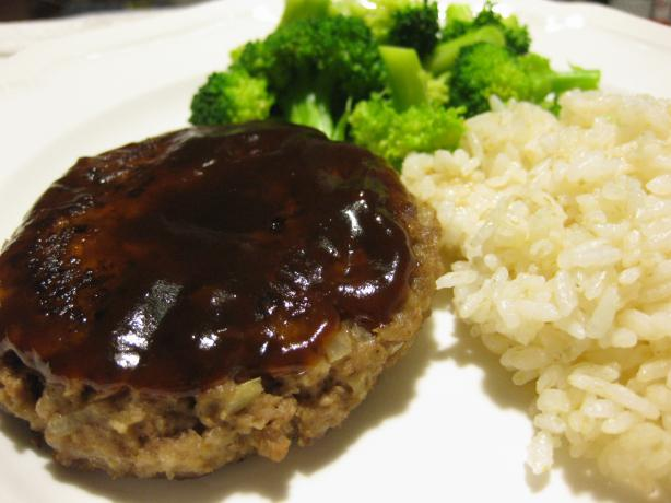 Japanese Hambagu (Hamburg) Steak