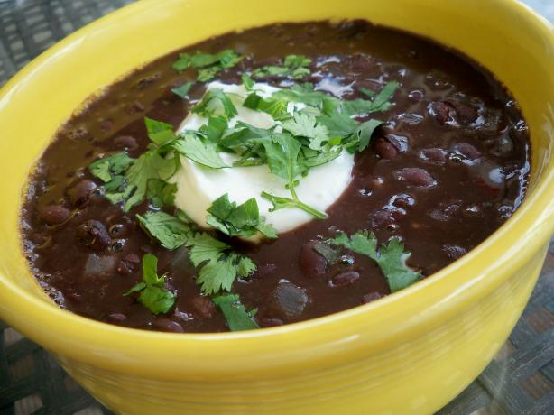 Lone Star Steakhouse Black Bean Soup