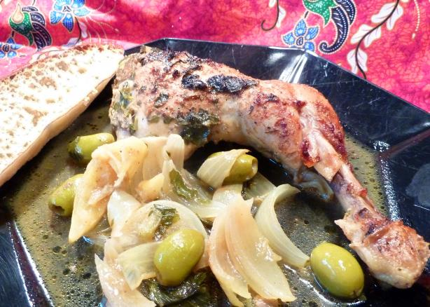 Argana's Moroccan Chicken