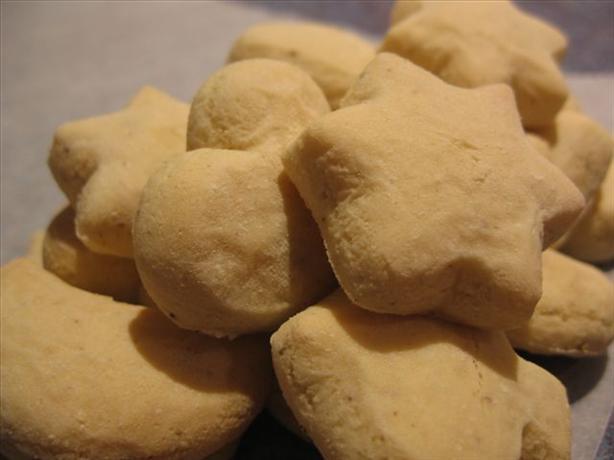 Mandel Broetli (Almond Biscuits)