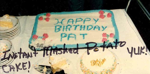 Practical Joke Birthday Cake!