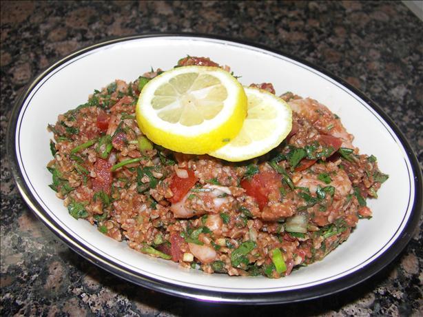 Seafood Tabbouli
