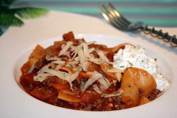 Karen's Skillet Lasagna