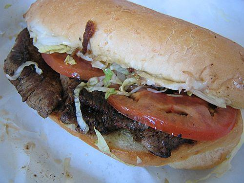 Montreal Steak Sandwich