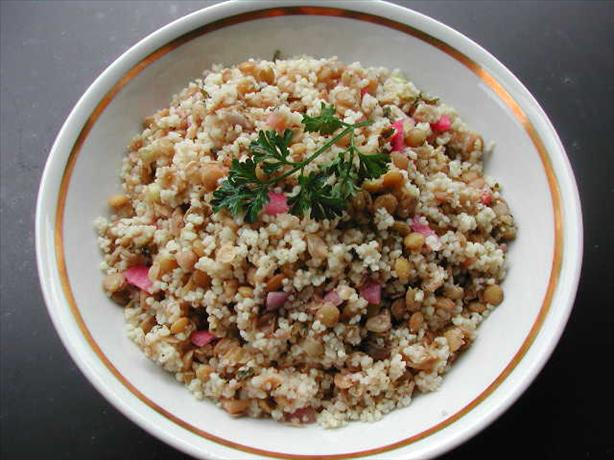 Lentil and Couscous Salad