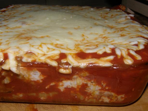Very Easy Lasagna