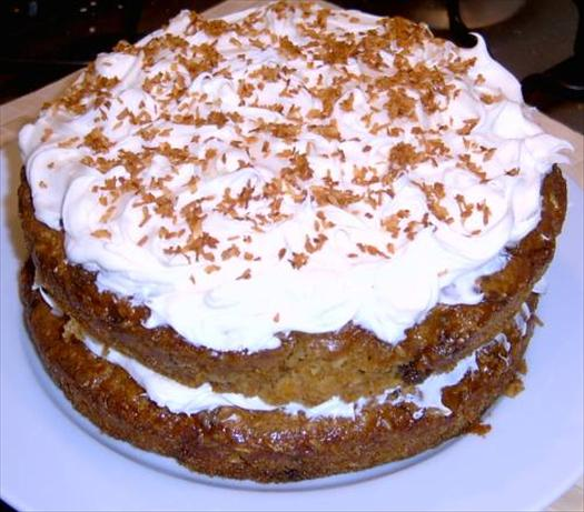 Scrumptious Orange Carrot Cake