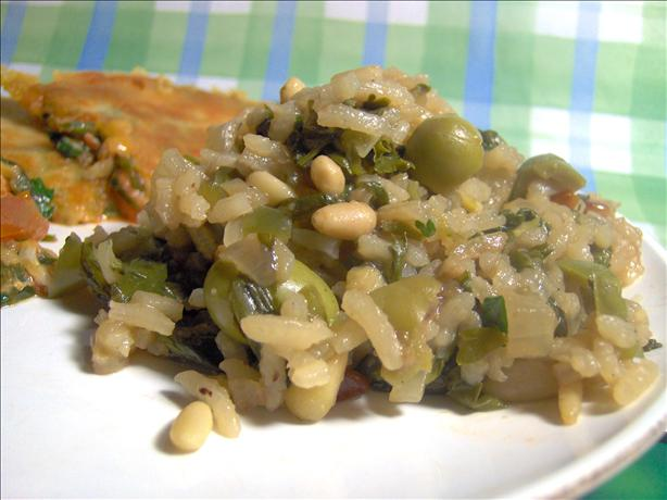 Paella Esmeralda (Emerald Paella)