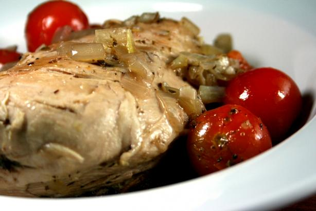Sauteed Chicken With Cherry Tomatoes