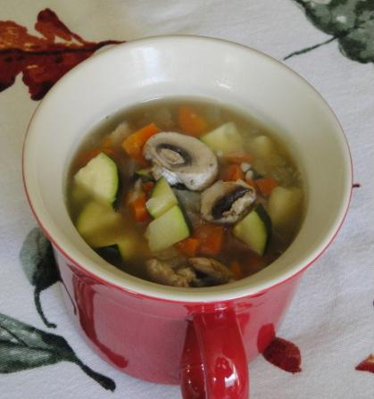Vegetable Soup for One