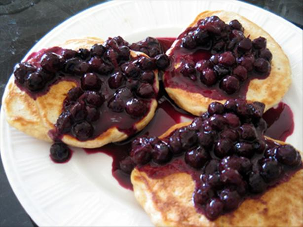 Blueberry Pancakes (Low Gi With Oats)