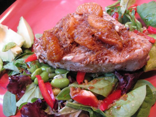 Seared Tuna With Citrus Sauce