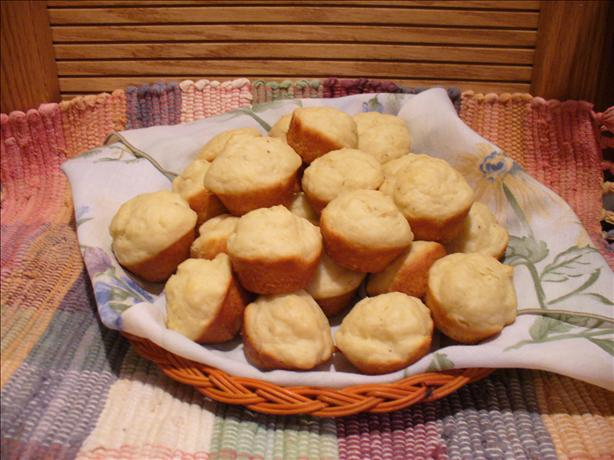 Mini White Hat Muffins