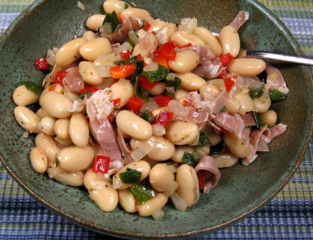 White Beans With Prosciutto and Sage
