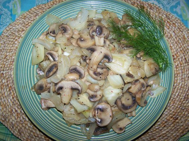 Fennel Mushroom Skillet