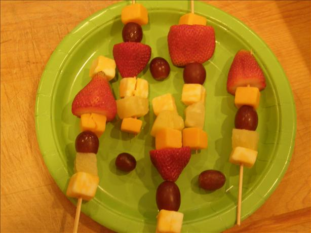 Fruit 'n Cheese Kabobs