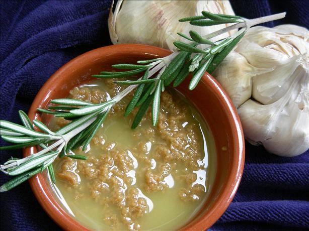 Roasted-Garlic Herb Spread